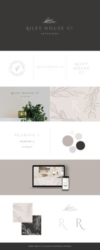 Riley brand identity kit