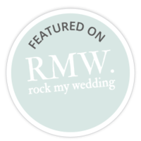 Featured on Rock My Wedding | Romaine Flint Wood