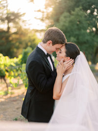 Kelsey + Alex Sonoma Buena Vista Winery Wedding - Cassie Valente Photography 0201