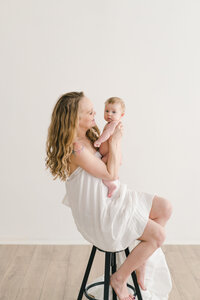 studio baby photography