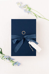 Dusty Blue Bruiloft Stationery Studio Peony Design-11