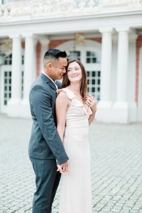 Germany Palace Engagement photographed by destination wedding photographer, Alicia Yarrish Photography