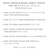 What Grad School Didn't Teach You - Instagram Infographic