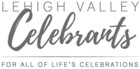The Lehigh Valley Celebrants offer bespoke Humanist wedding ceremonies in the Greater Lehigh Valley, Pocono and Philadelphia area of Pennsylvania