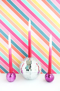 disco ball candle holders-4