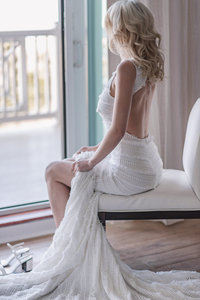 BEACH WEDDING AT ICONA AVALON - WEDDING DRESS BY GYPSY BRIDE