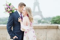 Paris anniversary photography session photographed by France destination wedding photographer, Alicia Yarrish