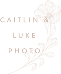 Caitlin and Luke Photography - Custom Brand Logo and Showit Web Website Design by With Grace and Gold - 9