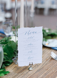 pirouettepaper.com | Wedding Stationery, Signage and Invitations | Pirouette Paper Company | Menus + Programs 09