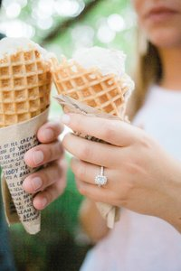 Ohio Columbus Jenis Ice Cream Engagement