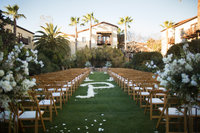 Ceremony Location at Estancia Hotel and Spa San Diego Wedding Venue