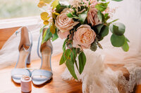 Moose Creek Ranch Wedding Bouquet and Details