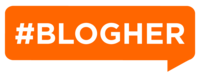 #BLOGHER_Logo_#ff6600_2