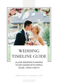 Wedding Timeline Guide