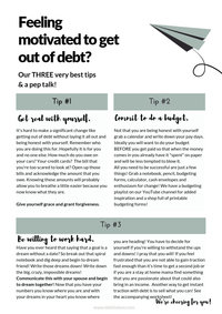 Tips to get out of debt