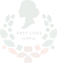 grey likes weddingsgray