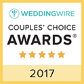 Wedding Wire 2017 Couple's Choice