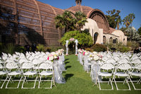 Ceremony location at Balboa Park San Diego Wedding Venue