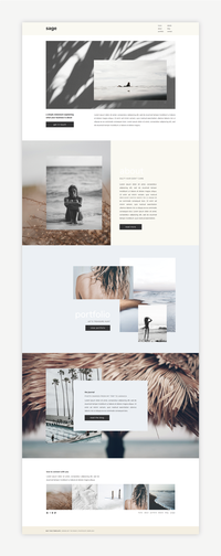 The Roar Showit Webdesign Template Sage Shop
