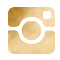 Gold Gradient Instagram Icon
