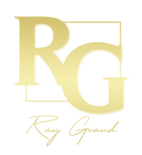 Ray Grand Gold Logo with RG and Signature