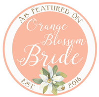 Featured in Orange Blossom Bride