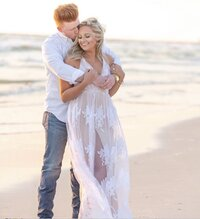 panama city beach engagement