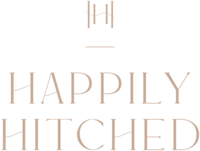 Happily Hitched - Custom Brand Logo and Showit Website Design by With Grace and Gold - 6
