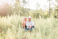 weddings and engagement photograph couple in nature