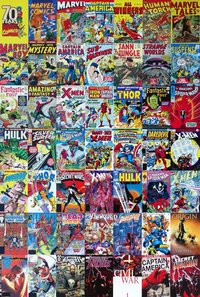 Marvel Comics - Photo Credit Pixabay