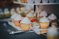 Cupcake tower NYC wedding