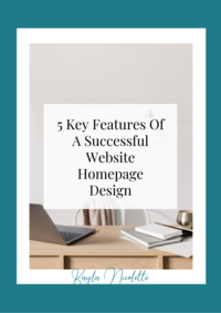 5 Key Features Of A Successful Website Homepage Design