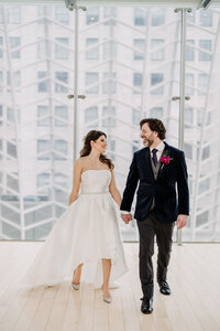 couple at kimmel center