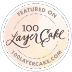 badge 100 layer cake