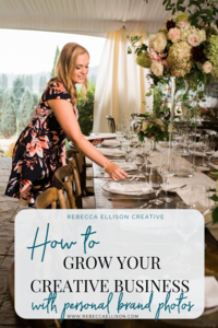 How to grow your creative business with personal brand photography