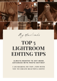 5 best photo editing tips