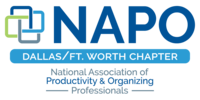NAPO National Association of Productivity and Organizing Professionals DFW Logo