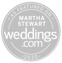 As seen in Martha Stewart Weddings