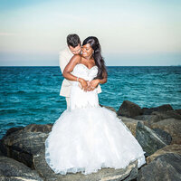 Newlywed Photo Session By Miami Wedding Photographer | White House Wedding Photography