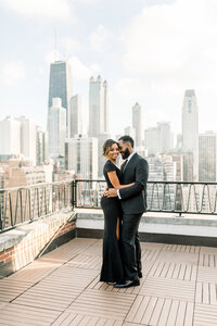 Aisle Society Minted Glam Engagement Session Lisa Hufford (30)