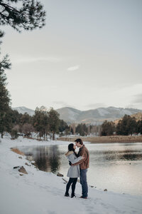 Winter Engagement Photos Colorado-22