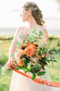 bridal details in beacon new york wedding