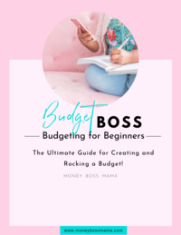 Budget Boss eBook image