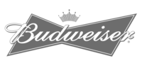 Budweiser-Logo (grayed out)