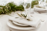 greenery place setting catskills wedding planner carey institute wedding canvas weddings