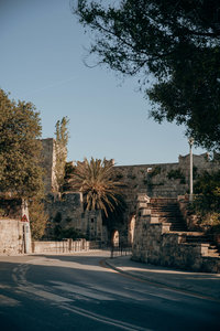 A travel photo of a fort in Rhodes Old Town