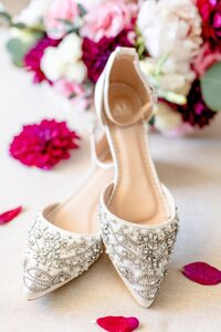 Wedding Shoes | Four Seasons Wedding | Chynna Pacheco Photography