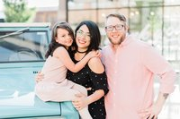 Family photography at Ponce City Market