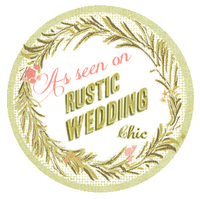 Photographer featured on Rustic Wedding Chic Oakwood Photo Video