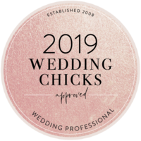 2019 Wedding Chicks Approved Vendor
